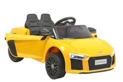 Elektro Kinderauto für Kinder ab 2 Jahre - lizenziert von Audi - R8B - gelb -1