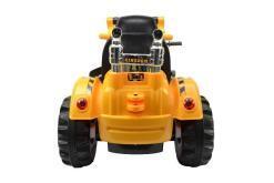 Elektro Kinderfahrzeug Kinderauto Baufahrzeug Bagger für Kinder ab 2 Jahre 12V Gelb-6