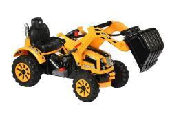 Elektro Kinderfahrzeug Kinderauto Baufahrzeug Bagger für Kinder ab 2 Jahre 12V Gelb-8