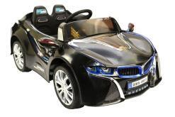 Elektro Kinderfahrzeug Kinderauto für Kinder ab 2 Jahre 12V Schwarz Lichter LED Flügeltüren-1