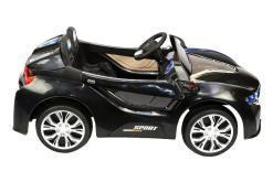 Elektro Kinderfahrzeug Kinderauto für Kinder ab 2 Jahre 12V Schwarz Lichter LED Flügeltüren-5