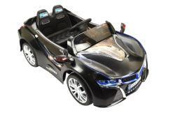 Elektro Kinderfahrzeug Kinderauto für Kinder ab 2 Jahre 12V Schwarz Lichter LED Flügeltüren-6
