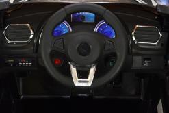 Elektro Kinderfahrzeug Kinderauto für Kinder ab 2 Jahre 12V Schwarz Lichter LED Flügeltüren-7