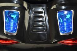Elektro Kinderfahrzeug Kinderauto für Kinder ab 2 Jahre 12V Schwarz Lichter LED Flügeltüren-8