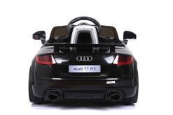 Elektro Kinderfahrzeug Kinderauto für Kinder ab 2 Jahre Audi TTRS Schwarz 12V Lizenziert Sportwagen mit Fernbedienung-6