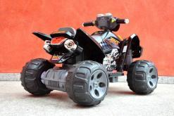 Elektroquad Kinderquad für Kinder ab 3 Jahre 12V Schwarz Groß Quad-10