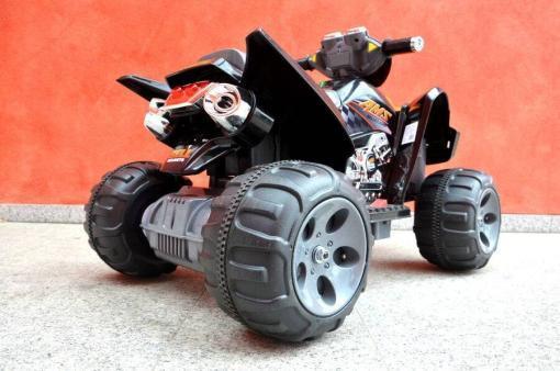 Elektroquad Kinderquad für Kinder ab 3 Jahre 12V Schwarz Groß Quad-7