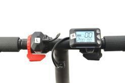 Elektro Scooter, E-Scooter, Trettroller, 36V, 20km/h mit LG Akkus, Bremsen, Tacho - S03 - klappbar Schwarz-7