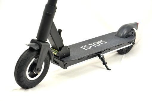 Elektro Scooter, E-Scooter, Trettroller, 36V, 20km/h mit LG Akkus, Bremsen, Tacho - S03 - klappbar Schwarz-6