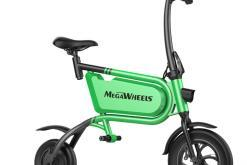 Elektro Scooter, E-Scooter, mit sitz, 36V, 20km/h mit LG Akkus, Bremsen, Tacho klappbar Grün 350W Brushless Motor - 6.0A Akku - 12Zoll Reifen -B06-4