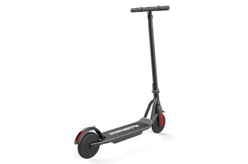 Elektro Scooter, E-Scooter, Trettroller, 36V Brushless Motor - 6.6A mit LG Akku 20km/h, Bremsen, Tacho - S10 - klappbar Schwarz holz trittbrett-2