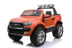 Elektro Kinderfahrzeug Kinderauto für Kinder ab 2 Jahre 2 Sitzer Zwei Sitzer Ford Ranger Orange Jeep 4x4 12V Mp4-1