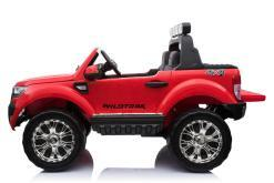 Elektro Kinderfahrzeug Kinderauto für Kinder ab 2 Jahre 2 Sitzer Zwei Sitzer Ford Ranger Rot Jeep 4x4 12V Mp4-1
