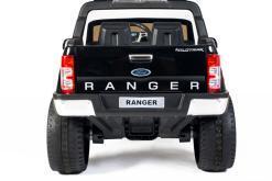 Elektro Kinderfahrzeug Kinderauto für Kinder ab 2 Jahre 2 Sitzer Zwei Sitzer Ford Ranger Rot Jeep 4x4 12V Mp4-5