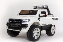 Elektro Kinderfahrzeug Kinderauto für Kinder ab 2 Jahre 2 Sitzer Zwei Sitzer Ford Ranger Weiß Jeep 4x4 12V Mp4-1