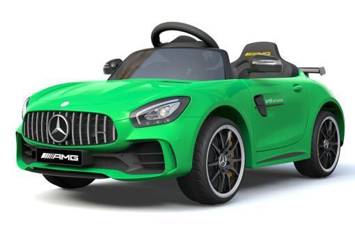 Elektro Kinderfahrzeug Kinderauto Mercedes Gtr Amg Grün für Kinder ab 2 Jahren 12V Sportwagen.-1