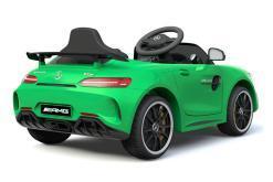 Elektro Kinderfahrzeug Kinderauto Mercedes Gtr Amg Grün für Kinder ab 2 Jahren 12V Sportwagen.-2