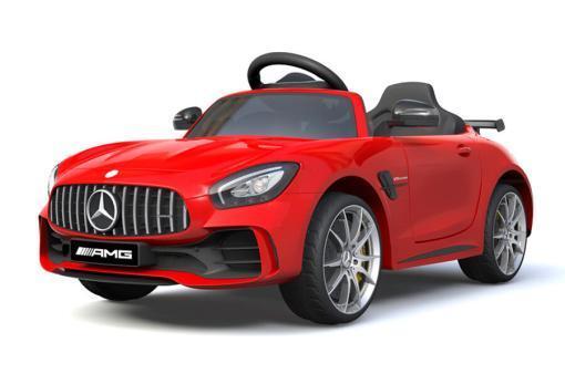 Elektro Kinderfahrzeug Kinderauto Mercedes Gtr Amg Rot für Kinder ab 2 Jahren 12V Sportwagen.-1