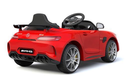 Elektro Kinderfahrzeug Kinderauto Mercedes Gtr Amg Rot für Kinder ab 2 Jahren 12V Sportwagen-2