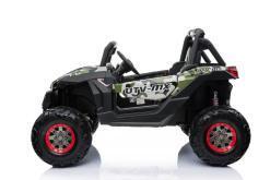 Elektro Kinderfahrzeug Kinderauto Buggy zweisitzer 2 sitzer UTV 4x4 12V für Kinder ab 2 Jahren Groß Camouflage-3