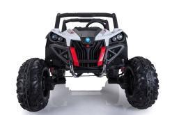 Elektro Kinderfahrzeug Kinderauto Buggy zweisitzer 2 sitzer UTV 4x4 12V für Kinder ab 2 Jahren Groß weiß-3