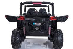 Elektro Kinderfahrzeug Kinderauto Buggy zweisitzer 2 sitzer UTV 4x4 12V für Kinder ab 2 Jahren Groß weiß-8