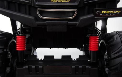 elektro kinderbuggy kinderauto 688 mit 2 motoren off-road - weiss -3