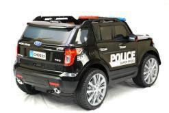Elektro Kinderfahrzeug Kinderauto Polizei für Kinder ab 2 Jahre 12V mit Sirene lichter Megaphone Groß-13