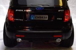 Elektro Kinderfahrzeug Kinderauto Polizei für Kinder ab 2 Jahre 12V mit Sirene lichter Megaphone Groß-9