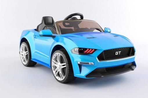 kinderauto elektro mit fernsteuerung gt 718 - blau -1
