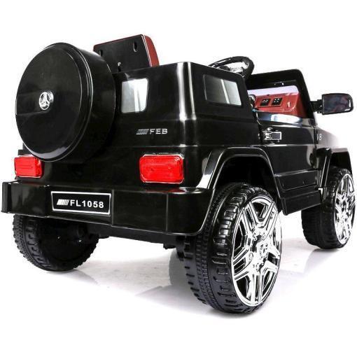 Elektro Kinderfahrzeug Kinderauto Jeep 12V Schwarz für Kinder ab 2 Jahre Groß-4