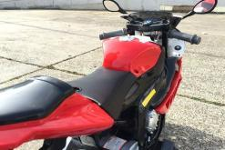Elektro Kindermotorrad Bmw S1000RR lizenziert Rot Weiß ab 3 Jahre Groß 12V-7