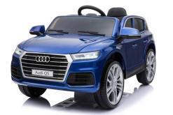 Elektro Kinderfahrzeug Kinderauto Audi Q5 Suv Jeep für Kinder ab 2 Jahre groß 12V Blau--1