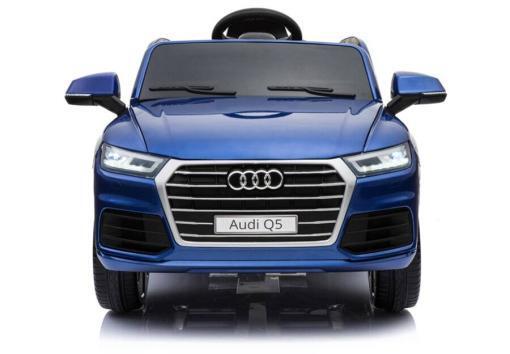 Elektro Kinderfahrzeug Kinderauto Audi Q5 Suv Jeep für Kinder ab 2 Jahre groß 12V Blau-2