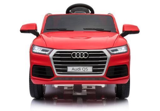 Elektro Kinderfahrzeug Kinderauto Audi Q5 Suv Jeep für Kinder ab 2 Jahre groß lizenziert 12V Rot-1