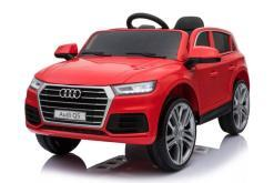 Elektro Kinderfahrzeug Kinderauto Audi Q5 Suv Jeep für Kinder ab 2 Jahre groß lizenziert 12V Rot-2