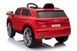 Elektro Kinderfahrzeug Kinderauto Audi Q5 Suv Jeep für Kinder ab 2 Jahre groß lizenziert 12V Rot-3