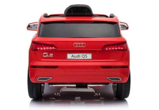 Elektro Kinderfahrzeug Kinderauto Audi Q5 Suv Jeep für Kinder ab 2 Jahre groß lizenziert 12V Rot-4
