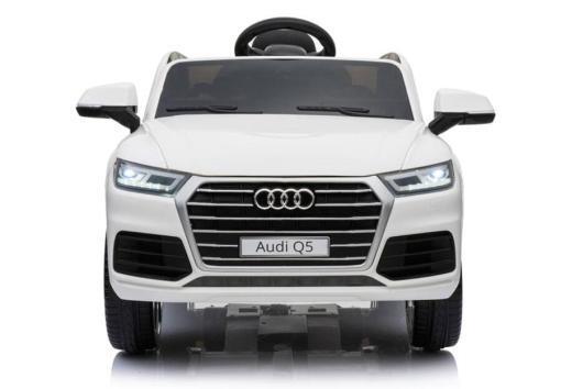 Elektro Kinderfahrzeug Kinderauto Audi Q5 Suv Jeep für Kinder ab 2 Jahre groß lizenziert 12V Weiß-1