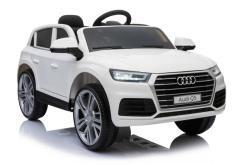Elektro Kinderfahrzeug Kinderauto Audi Q5 Suv Jeep für Kinder ab 2 Jahre groß lizenziert 12V Weiß-4