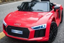 Elektro Kinderfahrzeug Kinderauto Audi R8 für Kinder ab 2 Jahren Sportwagen Rot12V - 1