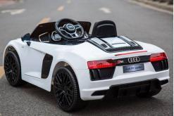 Elektro Kinderfahrzeug Kinderauto Audi R8 für Kinder ab 2 Jahren Sportwagen Weiß 12V-2