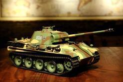 Ferngesteuerter Panzer mit Schuss Panther G Heng Long 1-16 mit Rauch&Sound und Stahlgetriebe - 2,4Ghz -V 6.0 -1