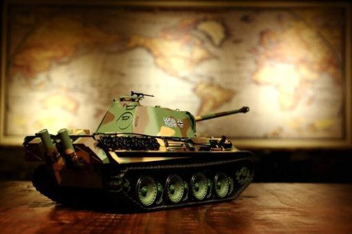 Ferngesteuerter Panzer mit Schuss Panther G Heng Long 1-16 mit Rauch&Sound und Stahlgetriebe - 2,4Ghz -V 6.0 -2