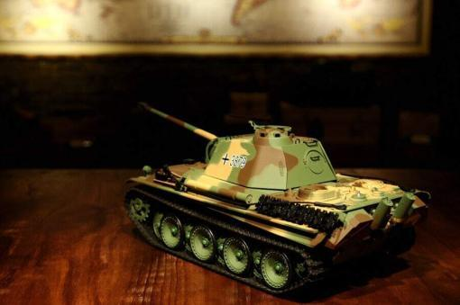 Ferngesteuerter Panzer mit Schuss Panther G Heng Long 1-16 mit Rauch&Sound und Stahlgetriebe - 2,4Ghz -V 6.0 -4