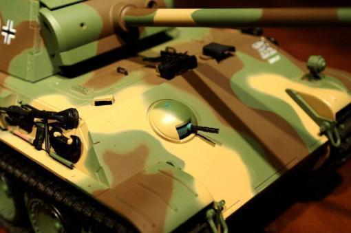 Ferngesteuerter Panzer mit Schuss Panther G Heng Long 1-16 mit Rauch&Sound und Stahlgetriebe - 2,4Ghz -V 6.0 -6
