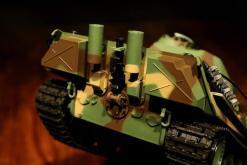 Ferngesteuerter Panzer mit Schuss Panther G Heng Long 1-16 mit Rauch&Sound und Stahlgetriebe - 2,4Ghz -V 6.0 -7
