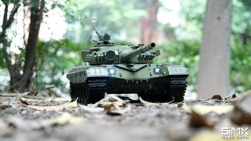 Ferngesteuerter Panzer mit Schuss Russicher T-72 Heng Long 116, Stahlgetriebe -2,4Ghz -V 6.0 -2