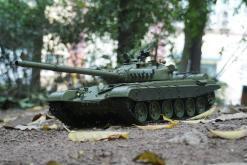 Ferngesteuerter Panzer mit Schuss Russicher T-72 Heng Long 116, Stahlgetriebe -2,4Ghz -V 6.0 -4