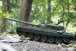 Ferngesteuerter Panzer mit Schuss Russicher T-72 Heng Long 116, Stahlgetriebe -2,4Ghz -V 6.0 -6